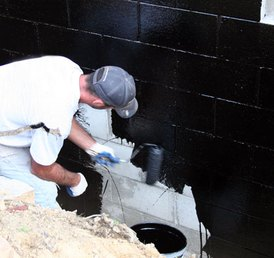 Exterior Basement Waterproofing